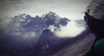 Pfadfinder aus Augsburg beim Bergwandern