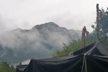 Zeltlager der Pfadfinder aus Augsburg